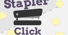Stapler click